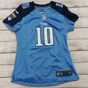 NFL On Field Tennessee Titans Jake Locker Jersey